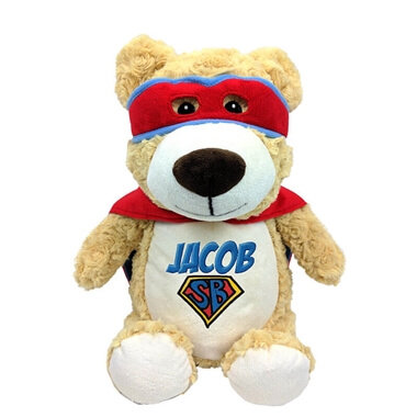 Personalised Hero Teddy