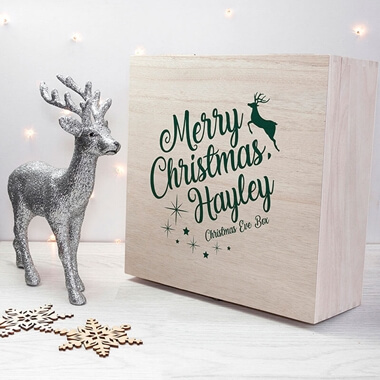 Personalised Rudolph Christmas Eve Box
