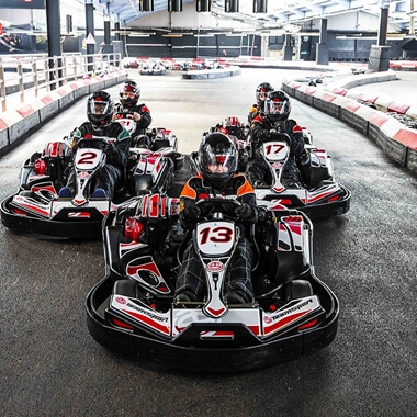 Indoor Karting Race for Two - Special Offer