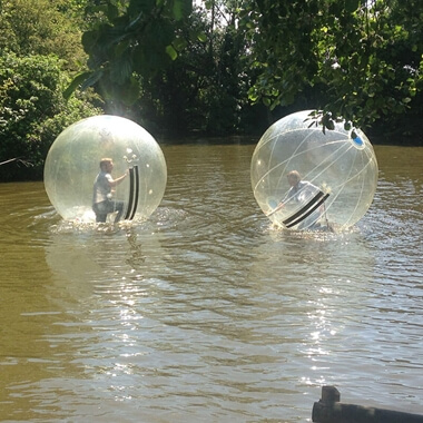2 for 1 Water Zorbing at Pump It Up Events
