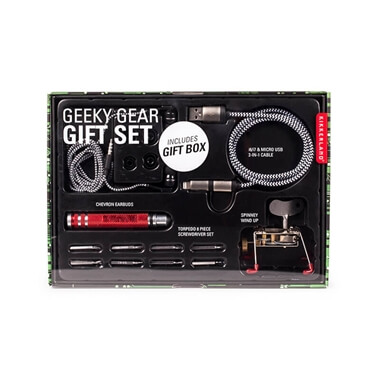 Geeky Gear Gift Set