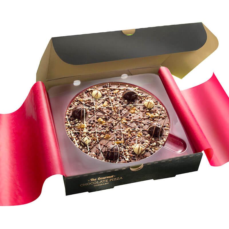 """Irish Cream Chocolate Pizza 7"""""""