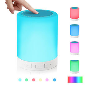 Colour Changing Touch Speaker