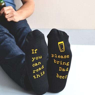Personalised Please Bring Beer Socks
