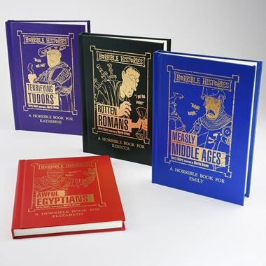Personalised Horrible Histories Book