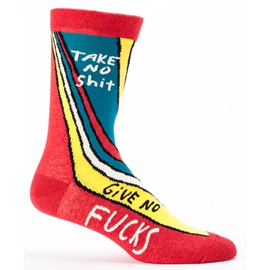 Take No Sh*t, Give No F*cks Mens Socks
