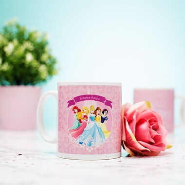 Personalised Disney Princess Mug