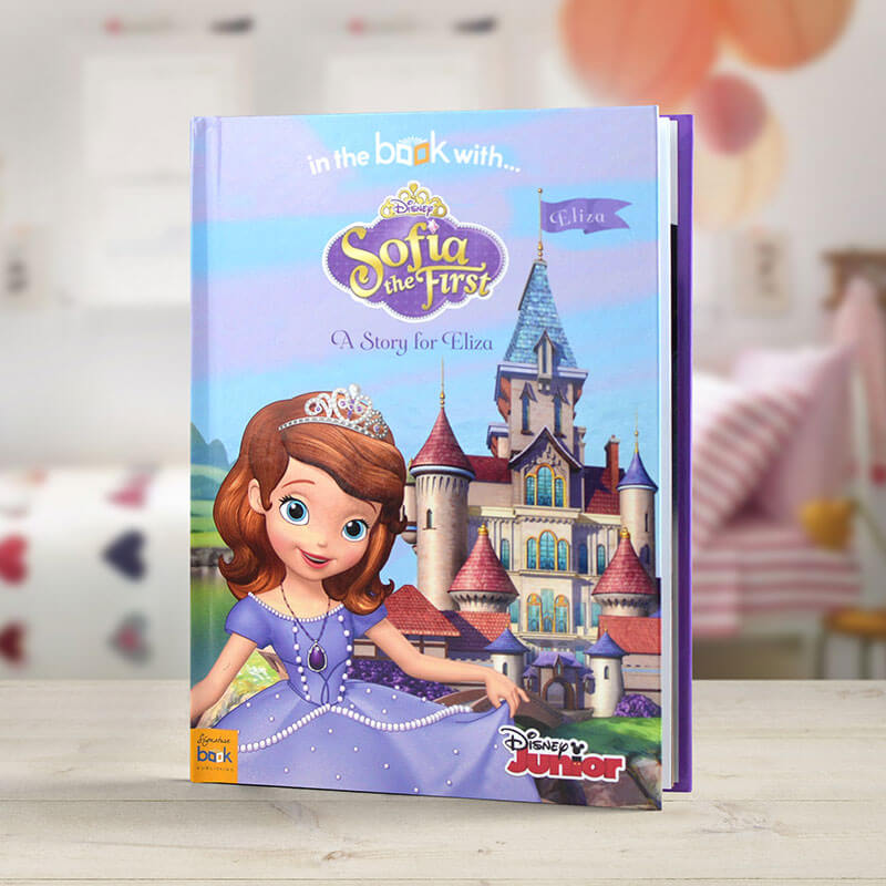 Personalised Sofia the First Book