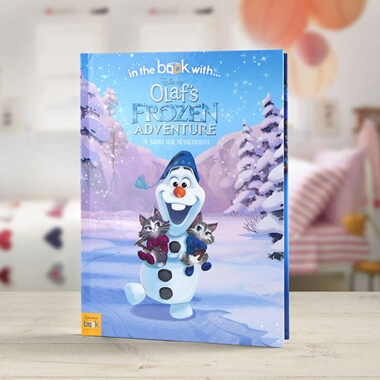 Personalised Olaf's Frozen Adventure Book