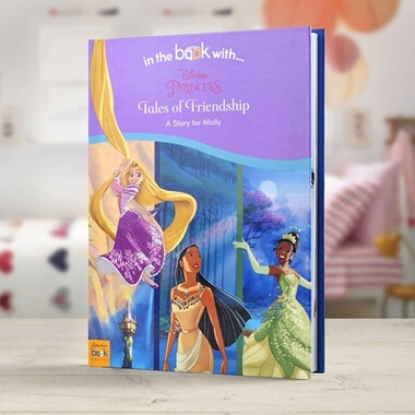 Personalised Disney Princess Tales of Friendship