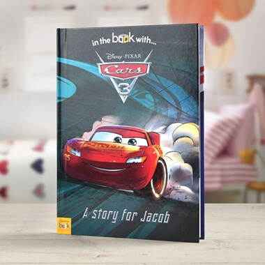 Personalised Cars 3 Book