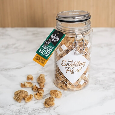 Perfectly Salted Pork Crackling Gift Jar
