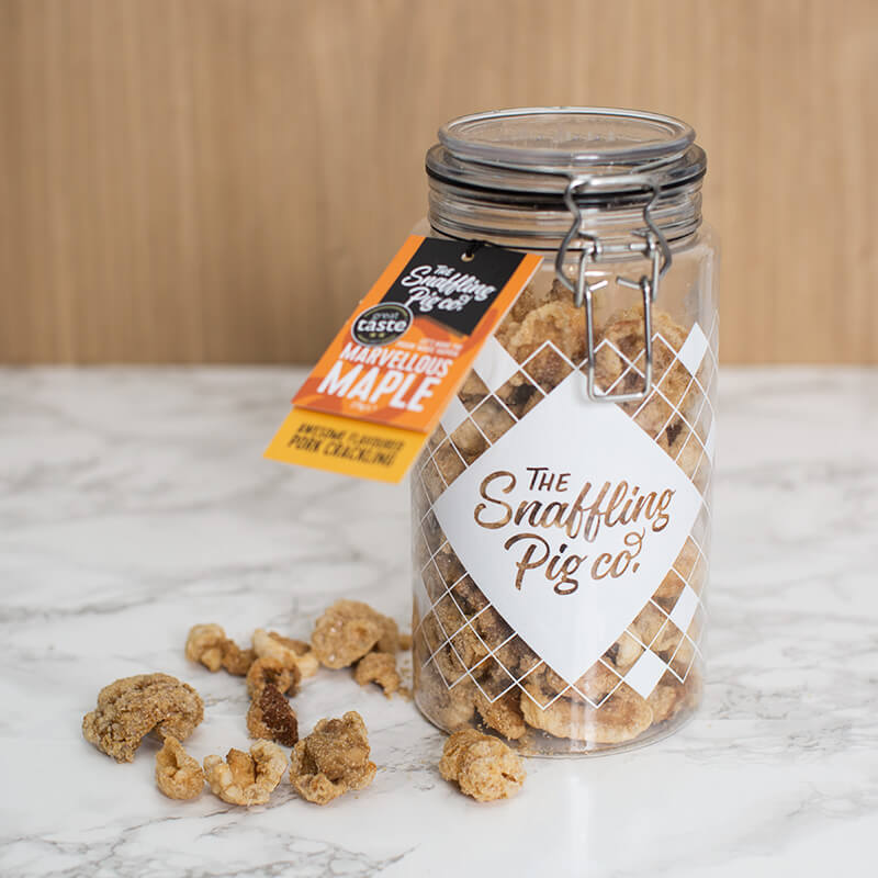 Maple Pork Crackling Gift Jar