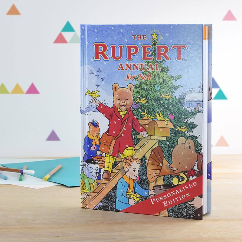 Personalised Rupert Annual