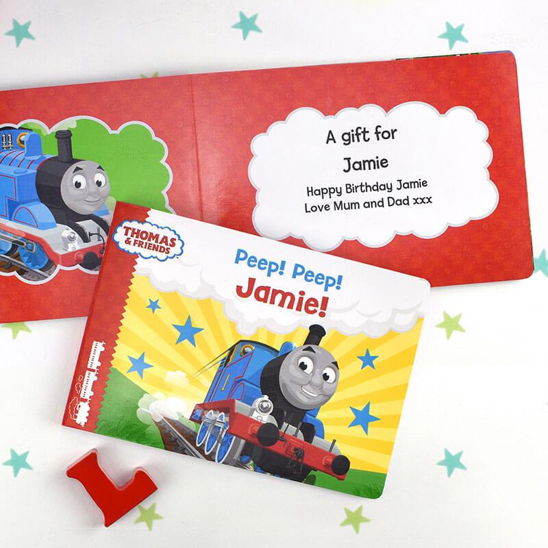 Personalised Peep Peep! Thomas Book