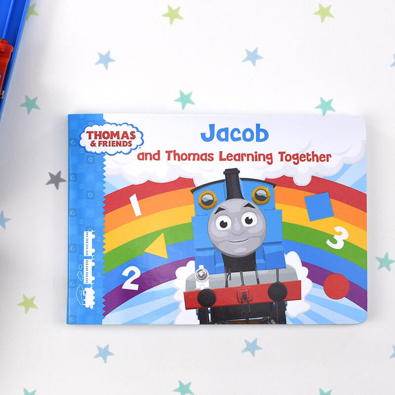 Personalised Thomas Learning Together Book
