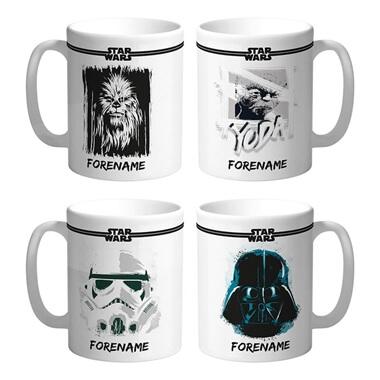 Personalised Star Wars Mug