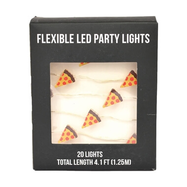 LED Party Lights - Pizza