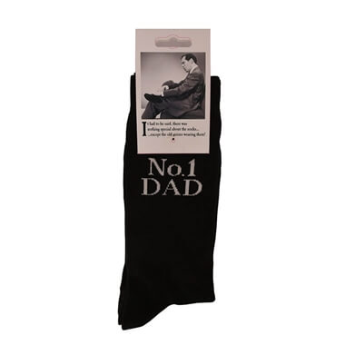 Emotional Rescue Socks - No 1 Dad