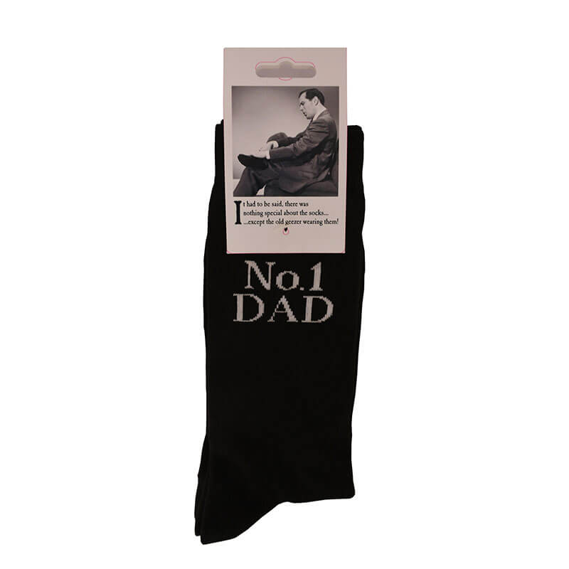 Emotional Rescue Socks - No. 1 Dad