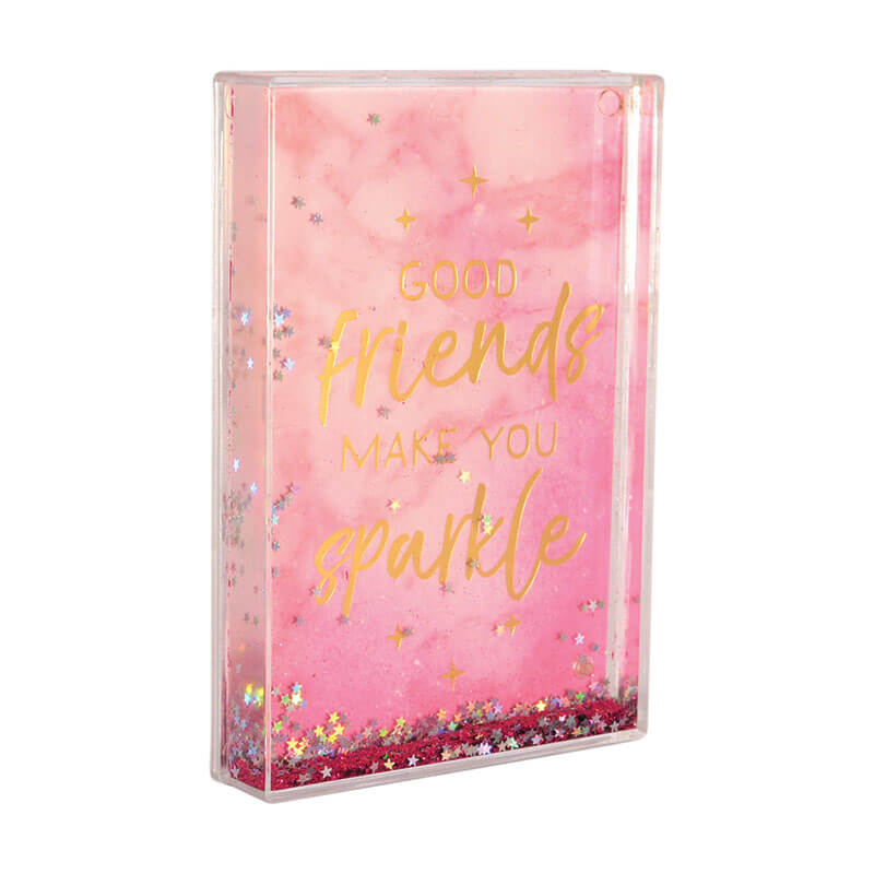 Glitter Photo Frames - Good Friends Make You Sparkle