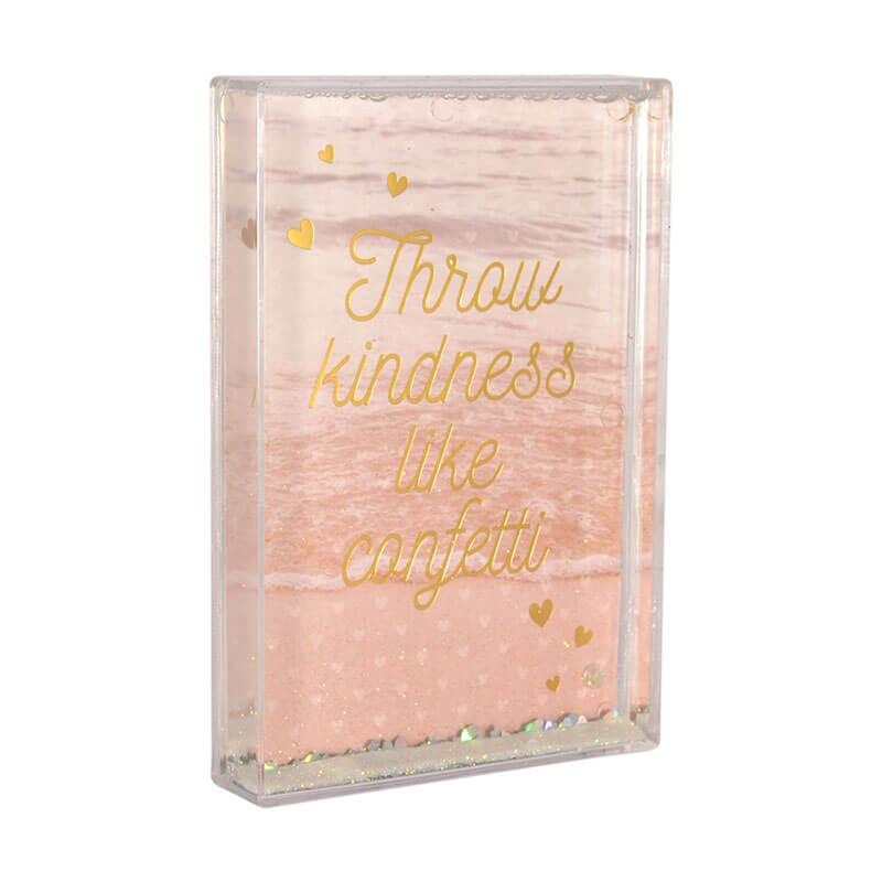Glitter Photo Frames - Throw Kindness Like Confetti