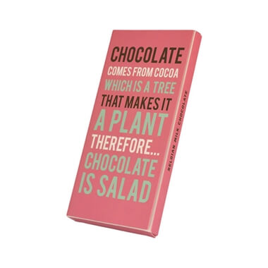Chocolate Is Salad  Chocolate Bar
