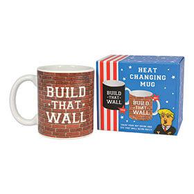 Donald Trump Build That Wall Heat Changing Mug