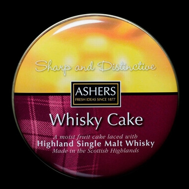 Highland Single Malt Whisky Cake