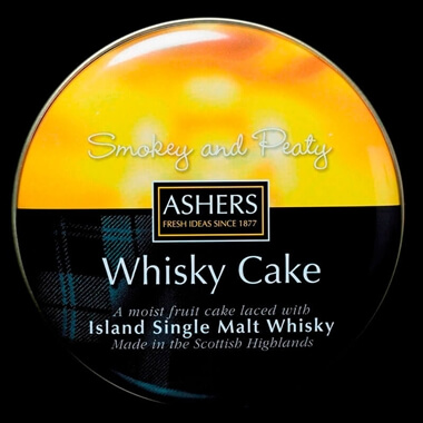 Island Single Malt Whisky Cake