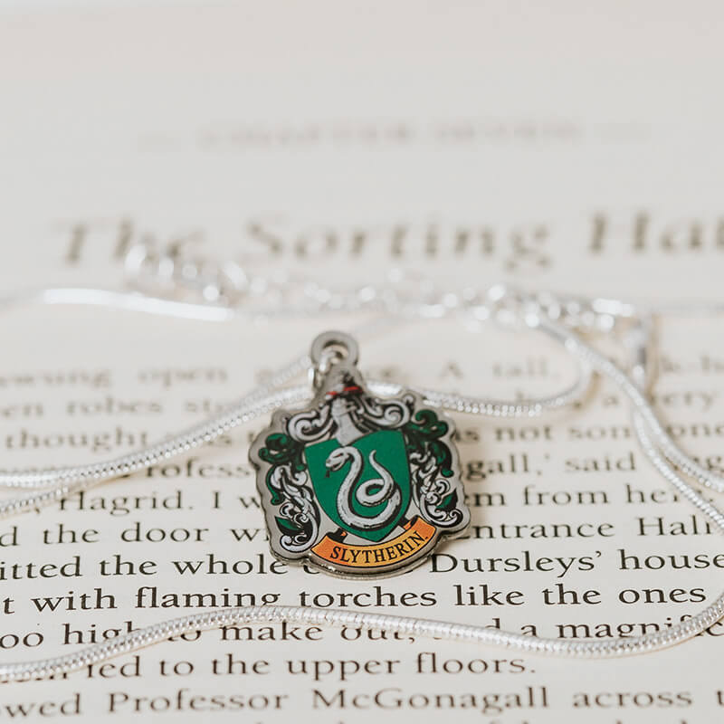 Harry Potter Slytherin Crest Necklace