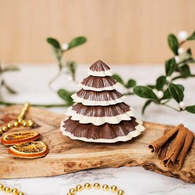 Solid Belgian Chocolate Christmas Tree