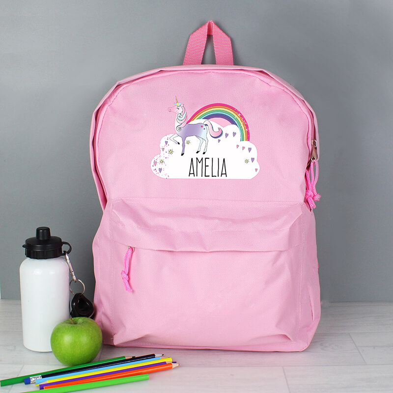 Personalised Unicorn Backpack