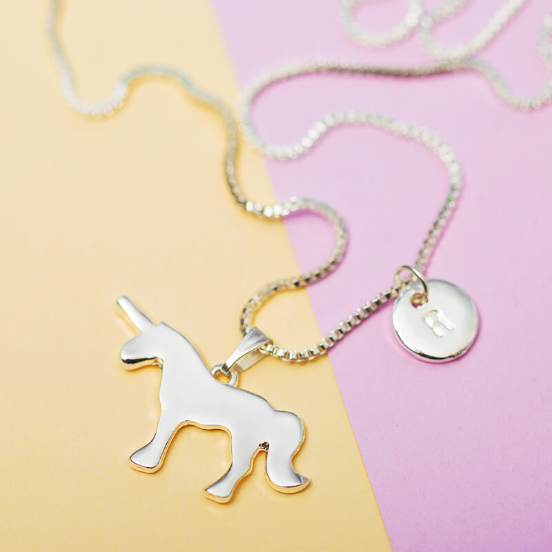 kitsch fantasy a cute animal am unicorn kawaii funky tmg magic ebay bluebubble necklace i bhp