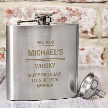 Personalised Hip Flask