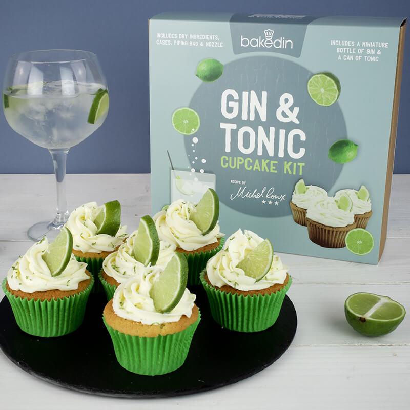 Gin And Tonic Cupcake Kit