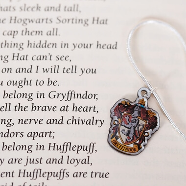 Harry Potter Gryffindor Crest Necklace