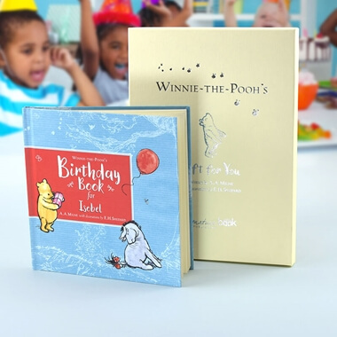 Personalised Winnie-the-Pooh's Birthday Book