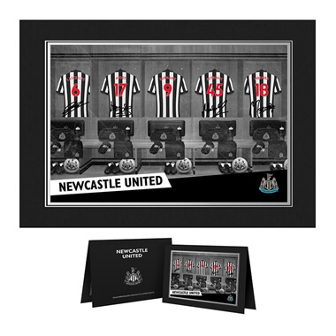 Personalised Newcastle United Dressing Room Photo Folder