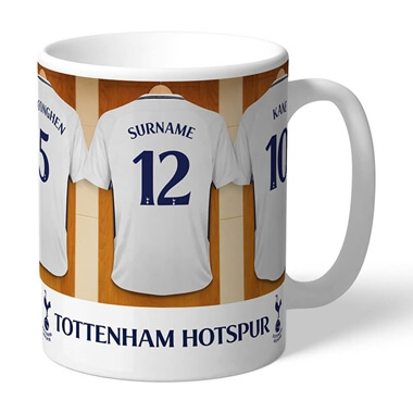 Personalised Tottenham Hotspur Dressing Room Mug