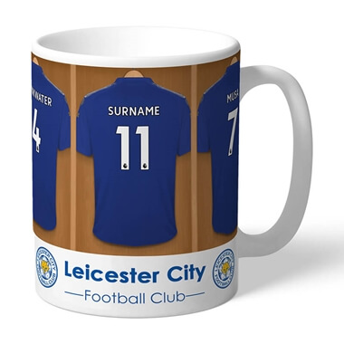 Personalised Leicester City Dressing Room Mug