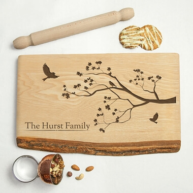 Personalised Family Tree Chopping Board