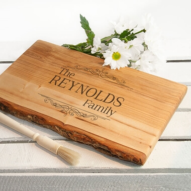 Personalised Vintage Family Chopping Board
