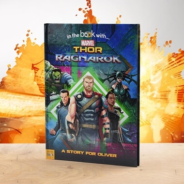 Personalised Thor Ragnarok Book