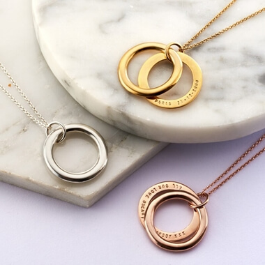 Personalised Secret Circle Necklace