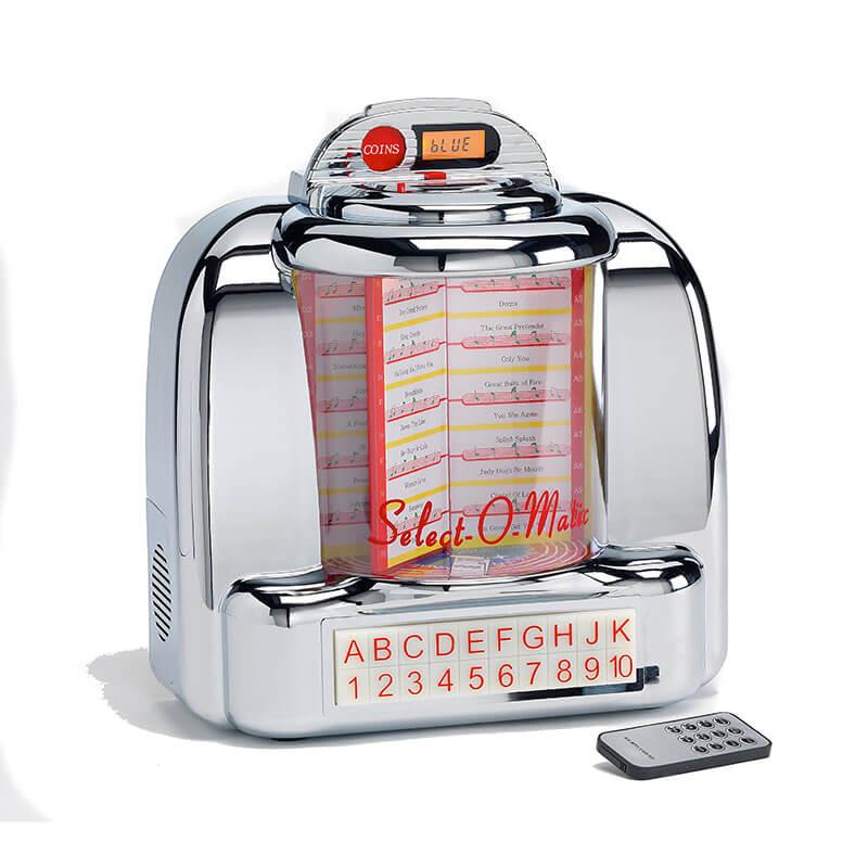 Steepletone Bluetooth Diner Style Jukebox