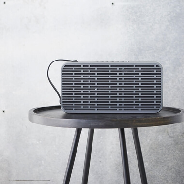 aSound Wireless Bluetooth Speaker - Grey