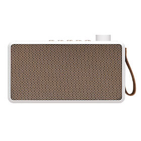 tRadio Wireless Radio and Bluetooth Speaker - White