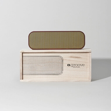 Kreafunk aGroove Wireless Bluetooth Speaker - Plum