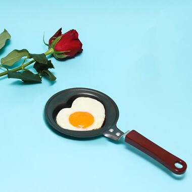 Heart Shaped Frying Pan